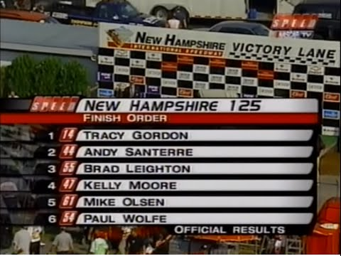 September 2002 Busch North New Hampshire 125