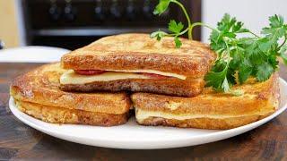 Не знаете что приготовить на завтрак Нереально вкусные ГОРЯЧИЕ сэндвичи цыганка готовит