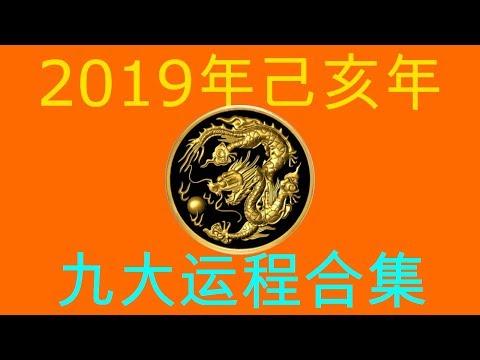 2019年己亥年九大运程大合集:肖龙者