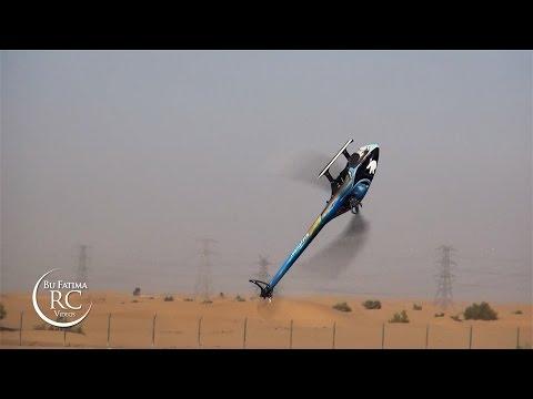 Tareq Alsaadi Flying Goblin 700 - Dubai RC Club