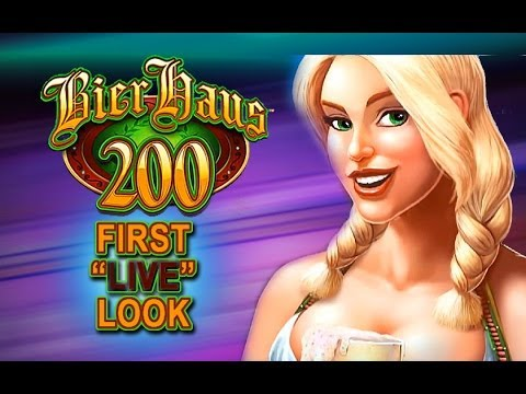 BIER HAUS 200 SLOT!!! - **NEW SLOT** - *First