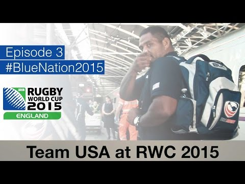 Team USA at Rugby World Cup - Episode 3 - ROAD TO LEEDS