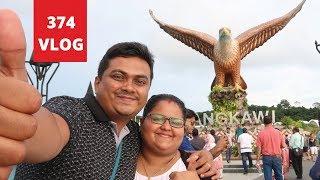 ലങ്കാവിയിലെ ഈഗിൾ സ്ക്വയറും ബൈക്ക് യാത്രയും - Eagle Square Langkawi Malayalam Vlog by Tech Travel Eat