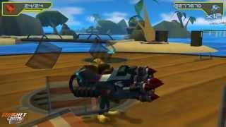 Ratchet & Clank El Tamaño Importa - Muestra del Juego completa - Parte 1 de 2