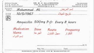 كيفية كتابة وصفة طبية - How to write a prescription