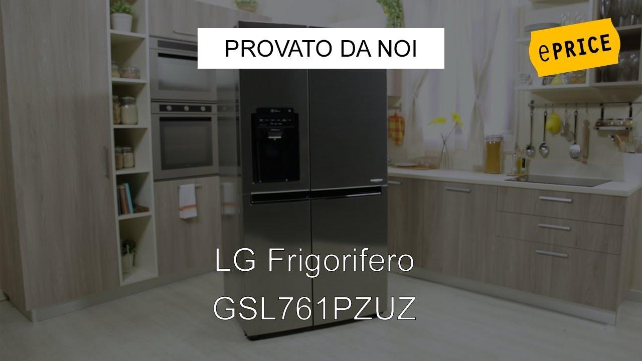 ePRICE Video Recensione Frigorifero Side By Side LG GSL761PZUZ - YouTube