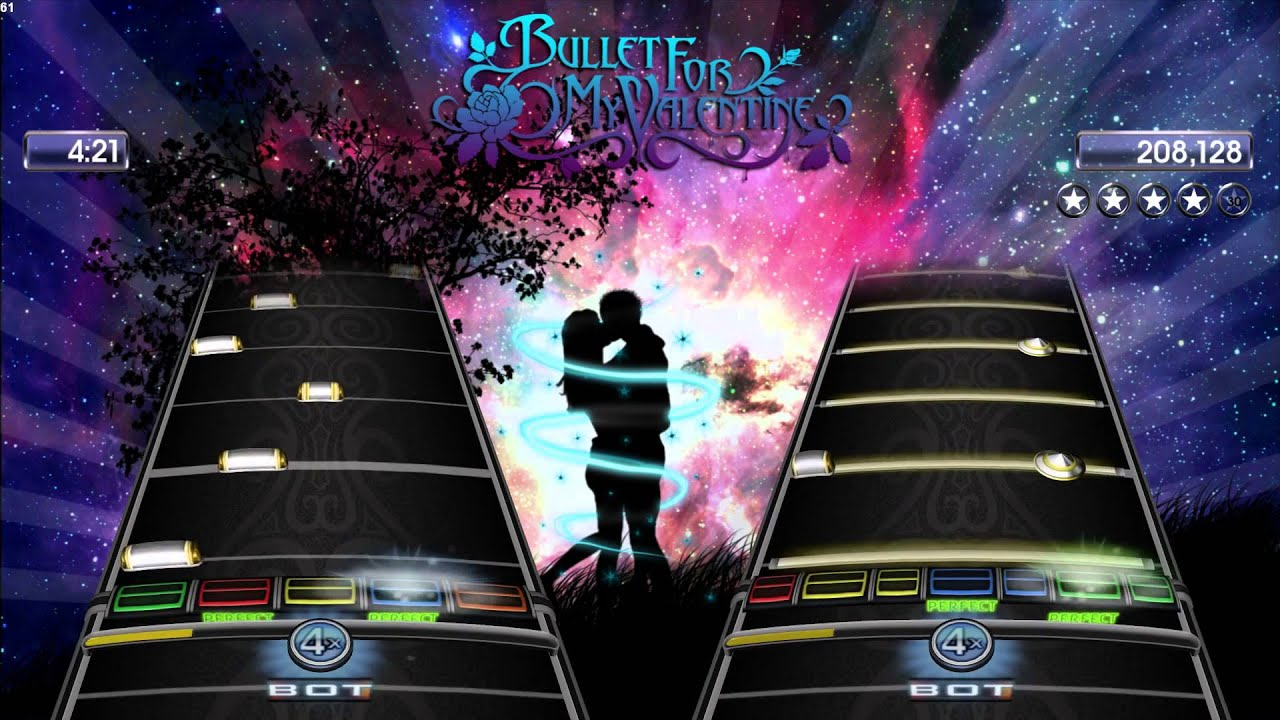 Toll (Phase Shift) Bullet For My Valentine   Forever And Always (Expert+  Guitar/Drums) [11]