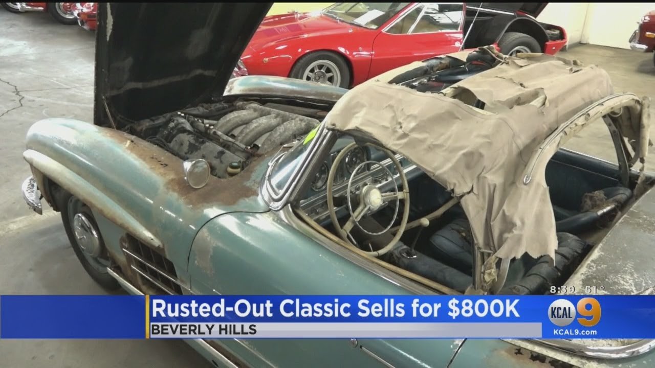 Rusted-Out Classic Sells for $800k