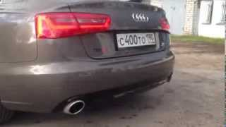 Выхлоп Audi A6 3.0TFSI