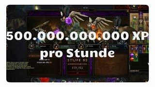 Diablo 3: Paragon farmen (500 MRD XP / Stunde)