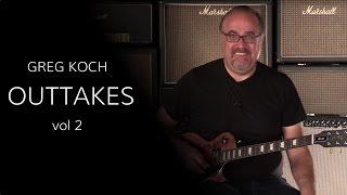 Greg Koch Outtakes Vol.  2  •  Wildwood Guitars