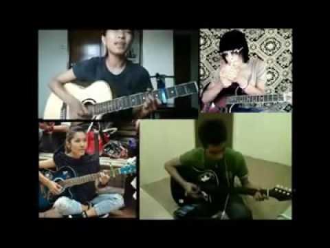 [Creative Cover Song] Cintai Aku Karna Allah ~ Duet Gitar