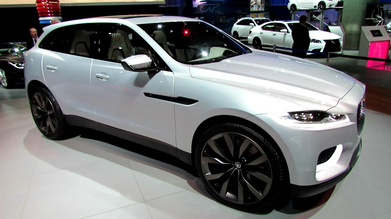 new car models release dates 20142015 Jaguar CX17 Sport SUV  Exterior and Interior Walkaround