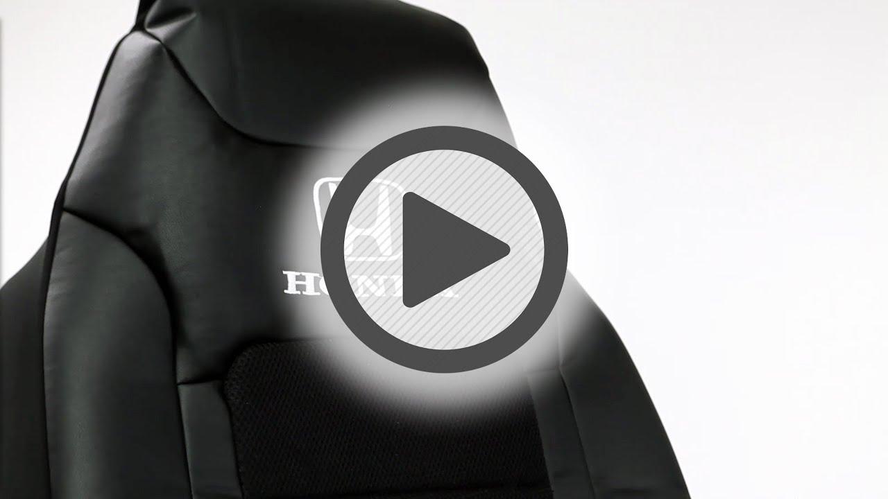 Plasticolor Honda Sport Black Seat Cover Pep Boys Youtube
