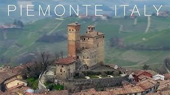 Le Langhe Piedmont   Piemonte 4k   Italy HD Drone Movie   Atellani