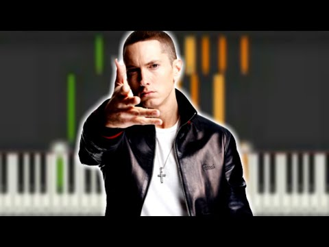 Basic Chords To Eminem Im Not Afraid Synthesia Piano Tutorial