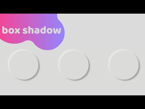 Box Shadow And Neumorphism In Css