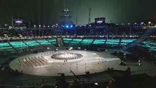 Olympic Closing Ceremony,  Pyeongchang 2018 South Korea Performance