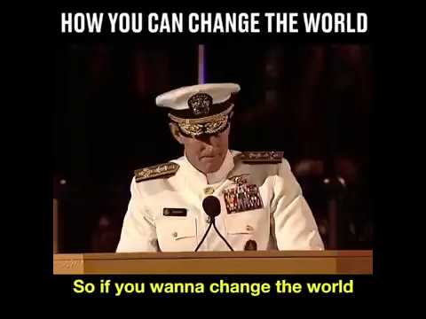 How you can change the world - Motivational video