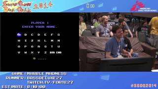 Summer Games Done Quick 2014 - Part 50 - Marble Madness