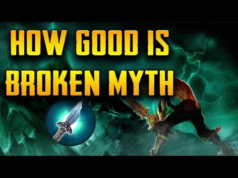 How Good Is Broken Myth?   Item Analysis For Vainglory
