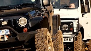 Land Rover Defender versus Jeep Wrangler Rubicon