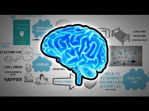 How to Exercise your Brain - Staying Sharp Animated Book Review