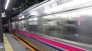 京王7000系7803F+7705F笹塚駅高速通過