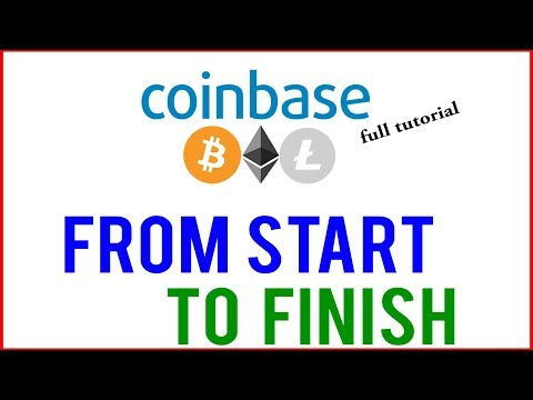 Coinbase Tutorial 2019 – FULL CLASS!!! (for Absolute Beginners)