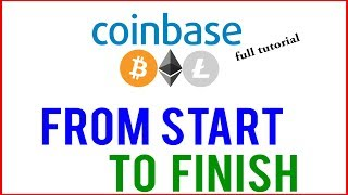 Coinbase Tutorial 2019 - FULL CLASS!!! (for Absolute Beginners)