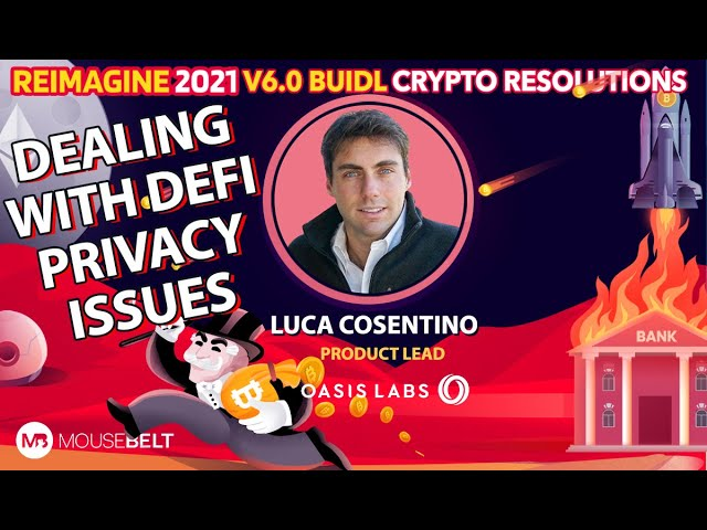 Luca Cosentino - Oasis - Blockchain Products, Not Blockchain Dreams