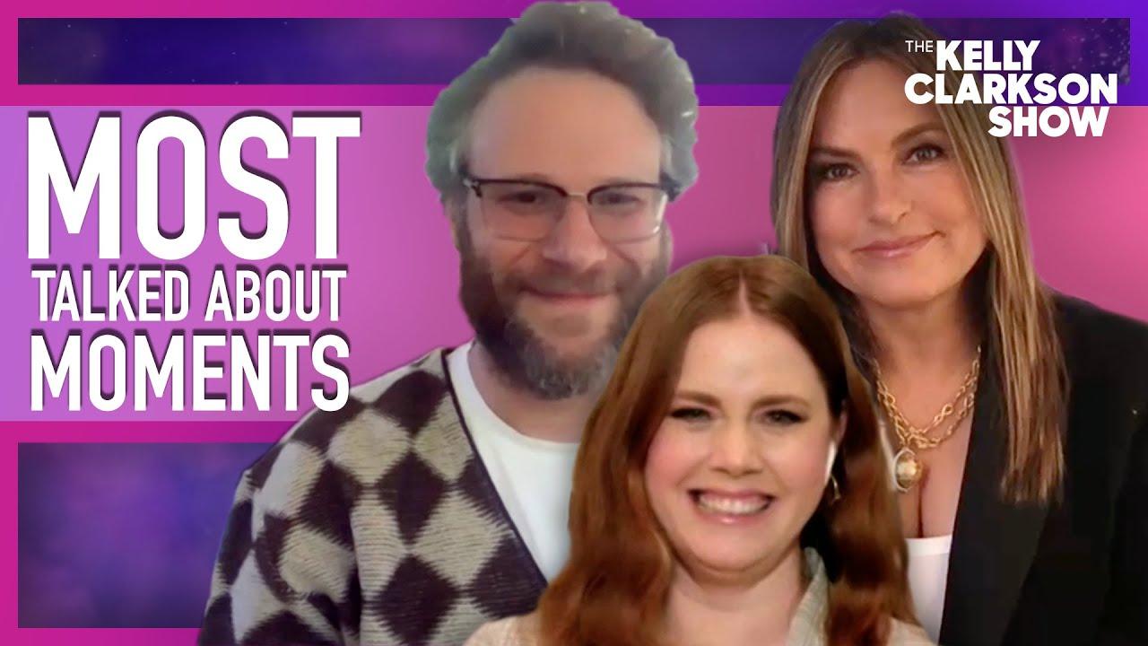 Most Talked About Moments | Seth Rogen, Amy Adams & Mariska Hargitay