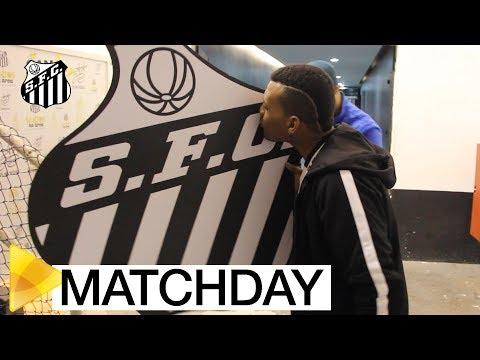 O Matchday do Santos FC na Vila Belmiro