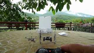 UNBOXING EACHINE H1 SKYWALKER mini NINJA 2,4GHZ MINI RC CLIMBING WALL UFO QUAD  (COURTESY BANGGOOD)