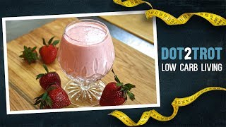 The Perfect Keto Strawberry Smoothie