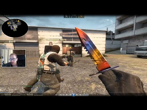 THE M9 BAYONET MARBLE FADE IS BACK | CS:GO Road to Global #26