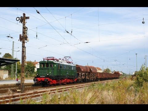 Fotozüge mit 244 044-4 und 112 708-3 Leipzig- Altenburg und Dessau-Bernburg