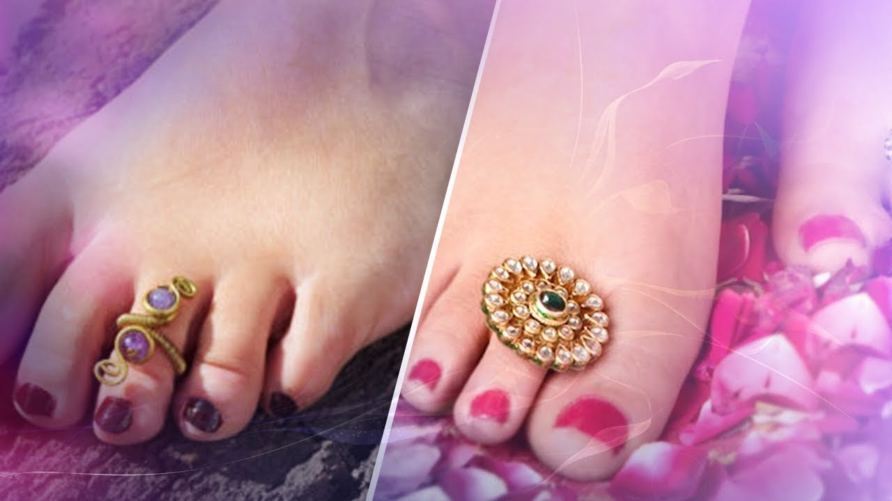 Beautiful Toe Rings For Indian Brides, With Price - YouTube