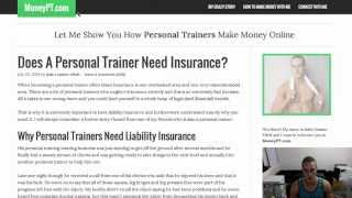 Do Personal Trainers Need Insurance?