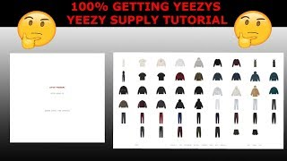 HOW TO COP ON YEEZY SUPPLY!!!