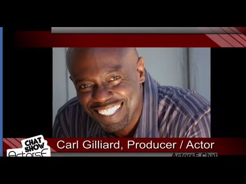Acting tips from ActorsE Chat with Carl Gilliard and Ron Brewington