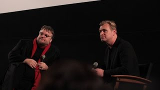 Christopher Nolan, Guillermo Del Toro and Interstellar