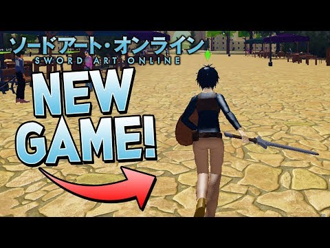 LINK START! NEW SWORD ART ONLINE GAME In ROBLOX! (EPIC NEW GAME!)