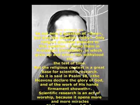 Great people, Nobel prize winners about God Part 9 ARTHUR SCHAWLOW