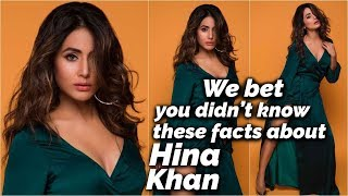 We bet you didn't know these facts about Cannes Debutante Hina Khan