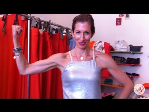 Alysia Reiner Swaps to Shop with Mommy Greenest