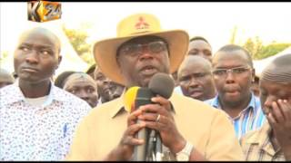 Leaders from Elgeyo marakwet call on government to provide them with security