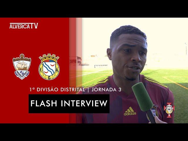 Ponte Frielas 1 - 5 FC Alverca   Flash Interview