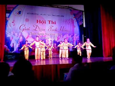 Giai điệu tuổi hồng THPT Pác Khuông - Lạng Sơn [Múa dân gian - Tiếng mõ học bài]