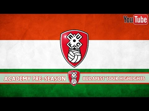 A compilation from the Rotherham United Academy's pre-season tour of Budapest